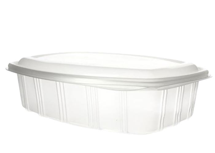Envase bisagra tapa alta rectangular 1500ml