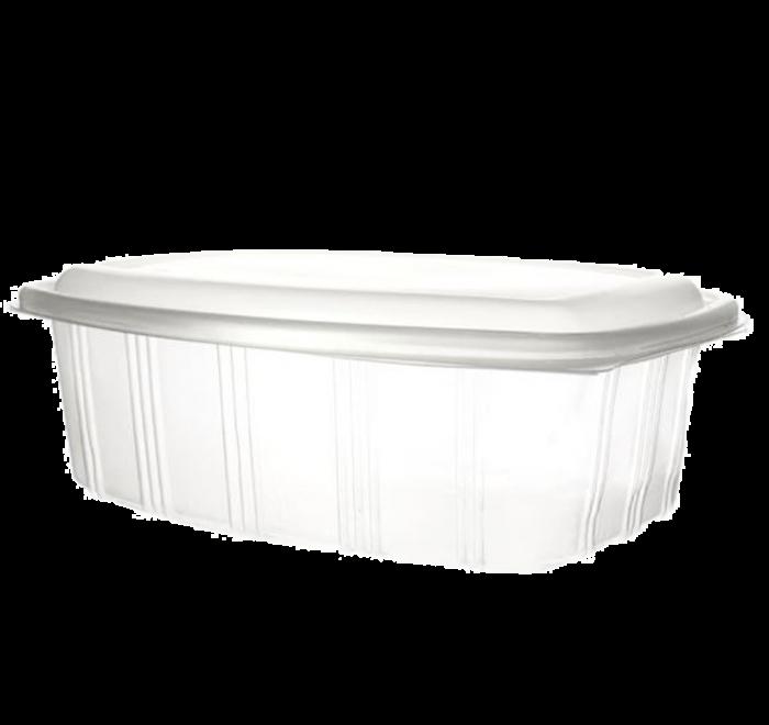 Envase bisagra tapa alta rectangular 2000ml